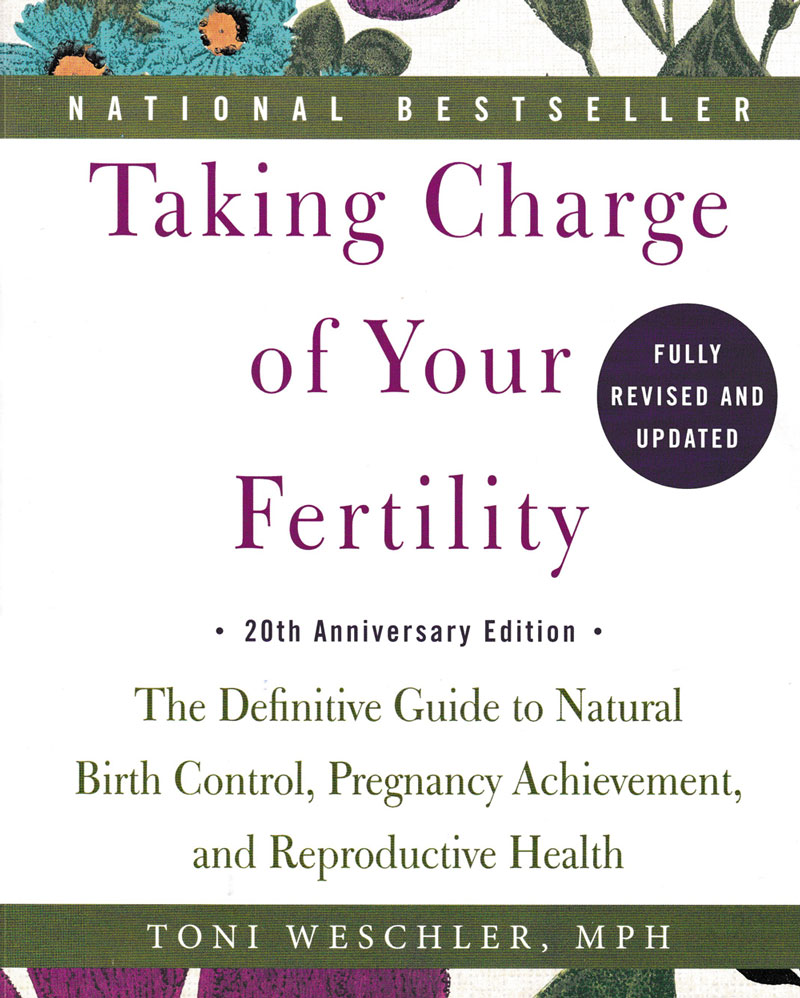 taking charge of your fertility book cover 2015